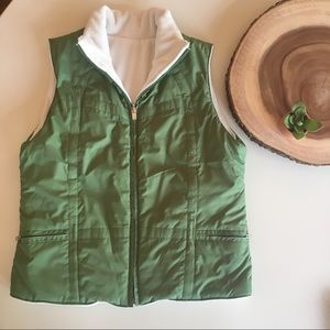 IZOD Reversible Vest - Like New ☘️
